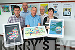 The Kerry Cultural Diversity and Intergration Poster Exhibition has opened in Killarney Library . <br /> Front L-R Eamon Browne (Killarney Library), Michael Scannell and Anne Marie Fitzgerald (Kerry County Council community services). <br /> Back L-R John McCarthy (Killarney Library) and Paul O'Raw (SKDP)