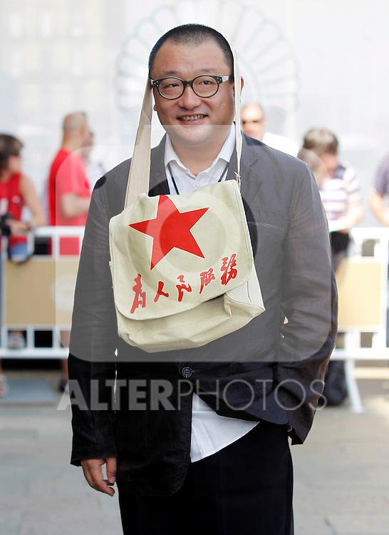 Film director Wang Xiao Shuai during the 59th San Sebastian Donostia International Film Festival - Zinemaldia.September 21,2011.(ALTERPHOTOS/ALFAQUI/Acero)