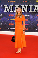 LONDON, ENGLAND - SEPTEMBER 13:  Carol Vorderman attending the World premiere of the new Netflix series 'Maniac' at Southbank Centre on September 13, 2018 in London, England.<br /> CAP/MAR<br /> &copy;MAR/Capital Pictures