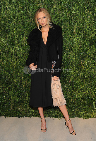 NEW YORK, NY - NOVEMBER 07:  Romee Strijd attends 13th Annual CFDA/Vogue Fashion Fund Awards at Spring Studios on November 7, 2016 in New York City. Photo by John Palmer/ MediaPunch