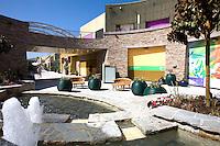 Courtyard at the Anaheim Garden Walk
