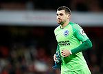 Brighton's Mathew Ryan during the Premier League match at the Emirates Stadium, London. Picture date: 5th December 2019. Picture credit should read: David Klein/Sportimage