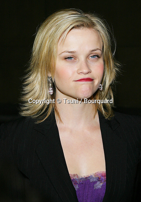 American Cinematheque presents an in-person tribute to Reese Witherspoon, who speaks between the screenings of VANITY FAIR and ELECTION in the Courtyard at The Egyptian, Lloyd E. Rigler Theatre in Los Angeles. December 3, 2004.