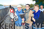 FAIR: Paddy McCarthy, Firies winner of the Best Horse of the Annascual Fair on Sunday l-r: Paddy McCarthy, Firies and Joanne and Pauline Fitzmaurice, Listowel.