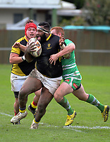 Taniela Koroi in action during the Mitre 10 Cup preseason rugby match between the Wellington Lions and Manawatu Turbos at Otaki Domain in Otaki, New Zealand on Sunday, 6 August 2017. Photo: Dave Lintott / lintottphoto.co.nz