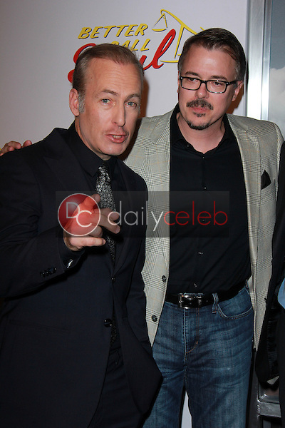Bob Odenkirk, Vince Gilligan<br />