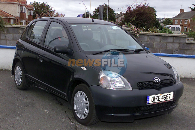 01 KE 4667 yaris.Picture Fran Caffrey Newsfile...This Picture is sent to you by:..Newsfile Ltd.The View, Millmount Abbey, Drogheda, Co Louth, Ireland..Tel: +353419871240.Fax: +353419871260.GSM: +353862500958.ISDN: +353419871010.email: pictures@newsfile.ie.www.newsfile.ie