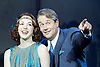 Mack and mabel <br /> Music and Lyrics by JERRY HERMAN Book by MICHAEL STEWART<br /> at the Festival Theatre, Chichester, Great Britain <br /> Press photocall <br /> 20th July 2015 <br /> <br /> <br /> Michael Ball as Mack Sennett<br /> Rebecca LaChance as Mabel Normand <br /> <br /> <br /> <br /> Book revised by FRANCINE PASCAL<br /> <br /> <br /> Photograph by Elliott Franks <br /> Image licensed to Elliott Franks Photography Services