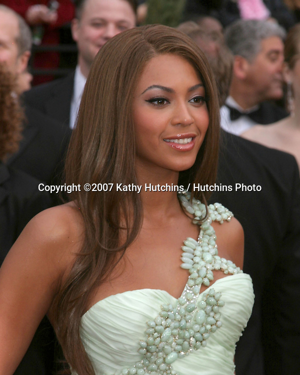 Beyonce Knowles.79th Annual Academy Awards.Kodak Theater .Hollywood & Highland.Hollywood, CA.February 25, 2007.©2007 Kathy Hutchins / Hutchins Photo....