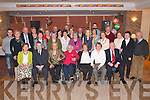 Hannah Moynihan Lewis Road, Killarney (seated fifth from left) who celebrated her 90th birthday with her many friends and family in Darby O'Gills Killarney on Saturday night   Copyright Kerry's Eye 2008