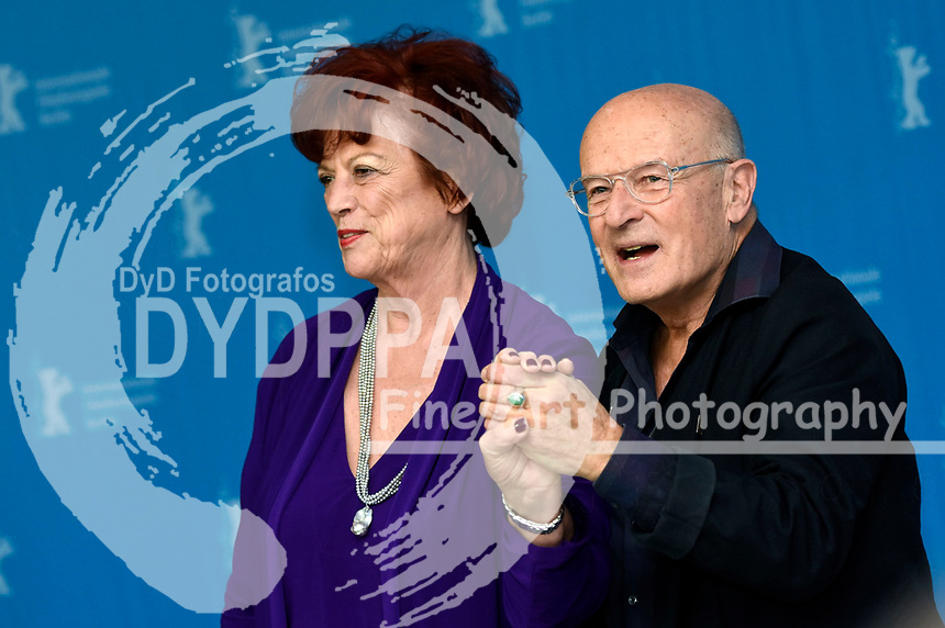 Regina Ziegler and Volker Schlöndorff during the 'Return To Montauk' photocall at the 67th Berlin International Film Festival / Berlinale 2017 on February 15, 2017  in Berlin, Germany.