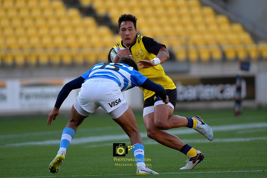 U20 Rugby - Hurricanes v Argentina at Westpac Stadium, Wellington, New Zealand on Saturday 18 March 2017.<br /> Photo by Masanori Udagawa<br /> www.photowellington.photoshelter.com.