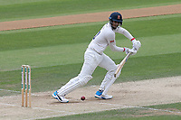 Rishi Patel in batting action for Essex during Essex CCC vs Yorkshire CCC, Specsavers County Championship Division 1 Cricket at The Cloudfm County Ground on 8th July 2019