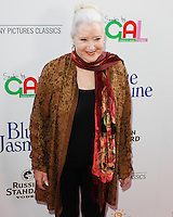 BEVERLY HILLS, CA - JULY 24: Sally Kirkland attends the premiere of 'Blue Jasmine' hosted by the AFI & Sony Picture Classics at the AMPAS Samuel Goldwyn Theater on July 24, 2013 in Beverly Hills, California. (Photo by Celebrity Monitor)