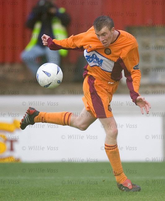 David Clarkson, Motherwell.stock season 2004-2005.pic willie vass