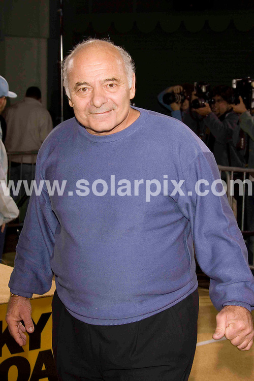ALL ROUND PICTURES FROM SOLARPIX.COM SYNDICATION RIGHTS FOR UK, SOUTH AFRICA, DUBAI, AUSTRALIA..Burt Young arrives at the premiere of the film, ROCKY BALBOA in Hollywood, Ca. at Grauman's Chinese Theater on Dec 13, 2006...DATE: 13/12/2006-JOB REF: 3164-PHZ.**MUST CREDIT SOLARPIX.COM OR DOUBLE FEE WILL BE CHARGED**