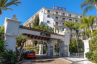 Hotel H10 Nueva Andalucia, Casino, Puerto Banus, Spain. November, 2017, 201711244051<br /><br />Copyright Image from Victor Patterson, 54 Dorchester Park, <br />Belfast, UK, BT9 6RJ<br /><br />t1: +44 28 9066 1296 (from Rep of Ireland 048 9066 1296)<br />t2: +44 28 9002 2446 (from Rep of Ireland 048 9002 2446)<br />m: +44 7802 353836<br /><br />e1: victorpatterson@me.com<br />e2: victorpatterson@gmail.com<br /><br />www.victorpatterson.com<br /><br />Please see my Terms and Conditions of Use at www.victorpatterson.com. It is IMPORTANT that you familiarise yourself with them.<br /><br />Images used on the Internet must be visibly watermarked i.e. © Victor Patterson within the body of the image and copyright metadata must not be deleted. Images used on the Internet have a size restriction of 4kbs and will be chargeable at current NUJ rates unless agreed otherwise.<br /><br />This image is only available for the use of the download recipient i.e. television station, newspaper, magazine, book publisher, etc, and must not be passed on to any third party. It is also downloaded on condition that each and every usage is notified within 7 days to victorpatterson@me.com<br /><br />The right of Victor Patterson to be identified as the author is asserted in accordance with The Copyright Designs And Patents Act (1988).