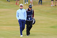 Brandon Stone (RSA) on the 1st fairway during Round 1 of the Dubai Duty Free Irish Open at Ballyliffin Golf Club, Donegal on Thursday 5th July 2018.<br /> Picture:  Thos Caffrey / Golffile