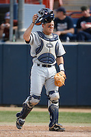Adam Zornes of the Rice Owls during a game against the Cal State Fullerton Titans at Goodwin Field on March 4, 2007 in Fullerton, California. (Larry Goren/Four Seam Images)