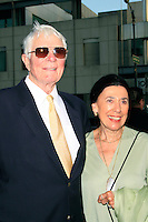 Beverly Hills, California - September 7, 2006.Peter Graves arrives with a guest at the Los Angeles Premiere of  Hollywoodland held at the Samuel Goldwyn Theater..Photo by Nina Prommer/Milestone Photo