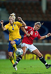 Anna Paulson, Elise Thorsnes, QF, Sweden-Norway, Women's EURO 2009 in Finland, 09042009, Helsinki Football Stadium.