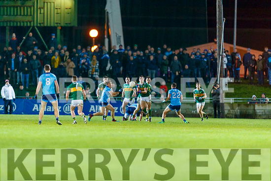 David Moran Kerry in action against  Darren Daly Dublin during the Allianz Football League Division 1 Round 3 match between Kerry and Dublin at Austin Stack Park in Tralee, Kerry on Saturday night.