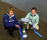 PUTNEY, LONDON, ENGLAND, 06.03.2006,2006 Boat race coxes left, Nick Brodie Oxford and Cambridge's Peter Rudge, named today at the 2006 Presidents Challenge and Boat Race Crew announcement held at the Winchester Club, Putney. © Peter Spurrier/Intersport-images.com.[Mandatory Credit Peter Spurrier/ Intersport Images] Varsity:Boat Race