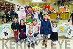 Enjoying the Easter Family Fun Day and Mad Hatters Tea Party at Manor West Retail Park were Cian Cronin, Ciara Cronin, Jessica O Brien, Aisling O Brien, Kate McCarthy and Rebecca O'Brien