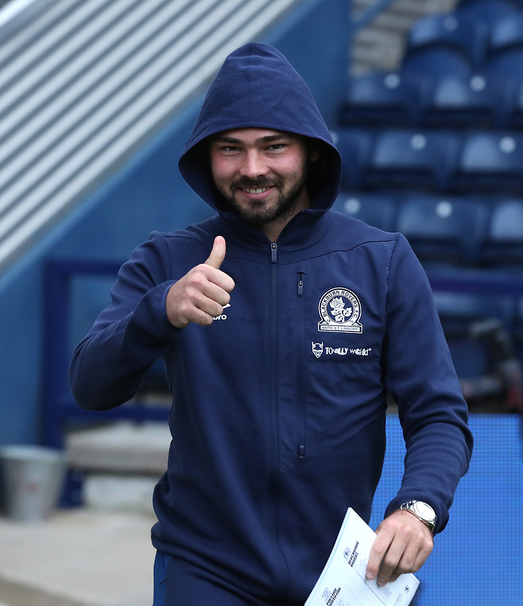 Blackburn Rovers' Bradley Dack<br /> <br /> Photographer Rachel Holborn/CameraSport<br /> <br /> The EFL Sky Bet Championship - Preston North End v Blackburn Rovers - Saturday 24th November 2018 - Deepdale Stadium - Preston<br /> <br /> World Copyright © 2018 CameraSport. All rights reserved. 43 Linden Ave. Countesthorpe. Leicester. England. LE8 5PG - Tel: +44 (0) 116 277 4147 - admin@camerasport.com - www.camerasport.com