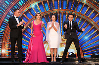 "Craig Revel-Horwood, Dame Darcey Bussell, Shirley Ballas and Bruno Tonioli<br /> at the launch of ""Strictly Come Dancing"" 2018, BBC Broadcasting House, London<br /> <br /> ©Ash Knotek  D3426  27/08/2018"