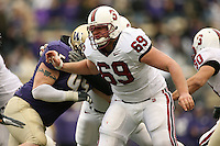 11 November 2006: Preston Clover during Stanford's 20-3 win over the Washington Huskies in Seattle, WA.