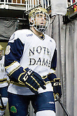 Sam Calabrese (Notre Dame - 8) - The University of Notre Dame Fighting Irish defeated the University of New Hampshire Wildcats 2-1 in the NCAA Northeast Regional Final on Sunday, March 27, 2011, at Verizon Wireless Arena in Manchester, New Hampshire.