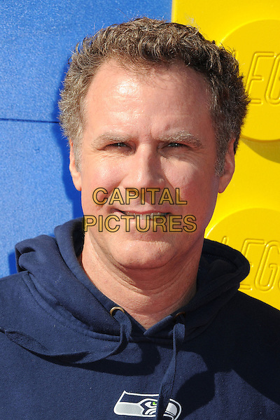 1 February 2014 - Westwood, California - Will Ferrell. &quot;The Lego Movie&quot; Los Angeles Premiere held at the Regency Village Theater.  <br /> CAP/ADM/BP<br /> &copy;Byron Purvis/AdMedia/Capital Pictures