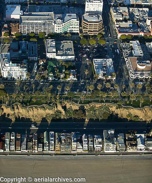 aerial photograph Santa Monica, California