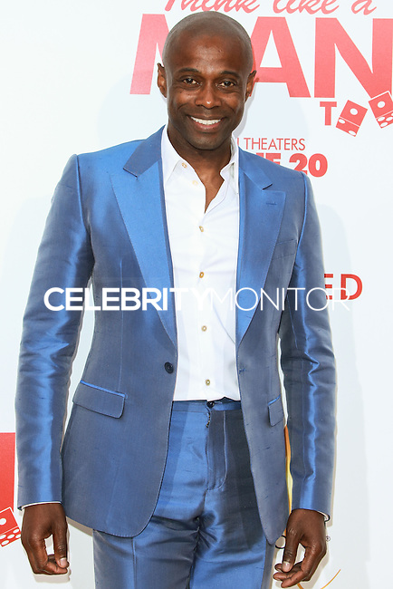 HOLLYWOOD, LOS ANGELES, CA, USA - JUNE 09: L'Renee, Kem at the Los Angeles Premiere Of Screen Gems' 'Think Like A Man Too' held at the TCL Chinese Theatre on June 9, 2014 in Hollywood, Los Angeles, California, United States. (Photo by David Acosta/Celebrity Monitor)
