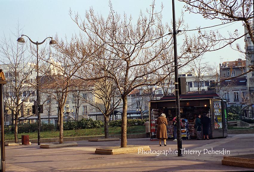 1989-1994; Issy Les Moulineaux; Centre Ville