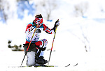 Pyeongchang, Korea, 13/3/2018- Derek Zaplotinsky competes in the mens 12.5 sitting biathlon during the 2018 Paralympic Games in PyeongChang. Photo Scott Grant/Canadian Paralympic Committee.
