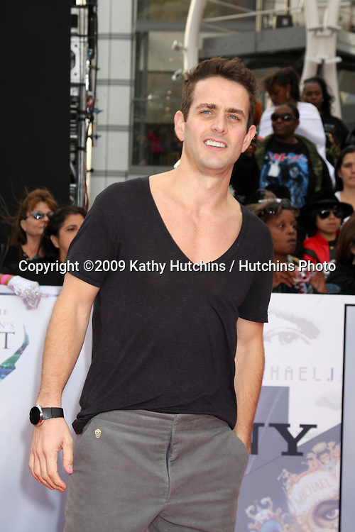"Joey McIntyre.arriving at the ""This is It"" Premiere.Nokia Theater at LA Live.Los Angeles,   CA.October 27, 2009.©2009 Kathy Hutchins / Hutchins Photo."