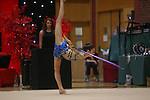 Welsh Rhythmic Gymnastics championships.<br /> Laura Halford<br /> 10.05.14<br /> ©Steve Pope-SPORTINGWALES