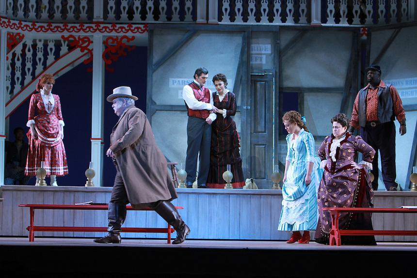 Show Boat at the Lyric Opera opening Sunday, Feb. 12, 2012