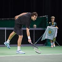 Rotterdam, Netherlands, 10 februari, 2019, Ahoy, Tennis, ABNAMROWTT,  ERNESTS GULBIS (LAT) Photo: Henk Koster/tennisimages.com