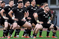 Haka All Blacks.<br /> Roma 24-11-2018  Stadio Olimpico,<br /> Rugby Cattolica Test Match 2018<br /> Italia vs Nuova Zealanda / Italy vs New Zealand <br /> Photo Antonietta Baldassarre / Insidefoto