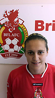Pictured: Rhian Nokes in her Briton Ferry Llansawel AFC kit<br /> Re: A school sports coach who lied about having a brain tumour to start a relationship with a pupil is due to be sentenced today at Swansea Crown Court.<br /> Rhian Nokes, 29, was working at a school in South Wales in 2010 when she befriended a 13-year-old pupil.<br /> Over the course of the next three years, Nokes lied to the pupil about her health and family issues in order to gain sympathy and trust from her. The defendant initially encouraged the pupil to exchange mobile numbers and text messages outside of school, Swansea Crown Court heard.<br /> She progressed to encouraging the pupil, then aged 15, to meet outside of school and start a sexual relationship.