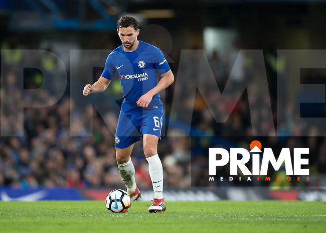 Daniel Drinkwater of Chelsea in action during the FA Cup 5th round match between Chelsea and Hull City at Stamford Bridge, London, England on 16 February 2018. Photo by Vince  Mignott / PRiME Media Images.