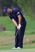 Ricardo Santos (POR) on the 8th green during Round 1 of the Challenge Tour Grand Final 2019 at Club de Golf Alcanada, Port d'Alcúdia, Mallorca, Spain on Thursday 7th November 2019.<br /> Picture:  Thos Caffrey / Golffile<br /> <br /> All photo usage must carry mandatory copyright credit (© Golffile | Thos Caffrey)