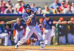 7 March 2013: Houston Astros infielder Jose Altuve in action during a Spring Training game against the Washington Nationals at Osceola County Stadium in Kissimmee, Florida. The Astros defeated the Nationals 4-2 in Grapefruit League play. Mandatory Credit: Ed Wolfstein Photo *** RAW (NEF) Image File Available ***