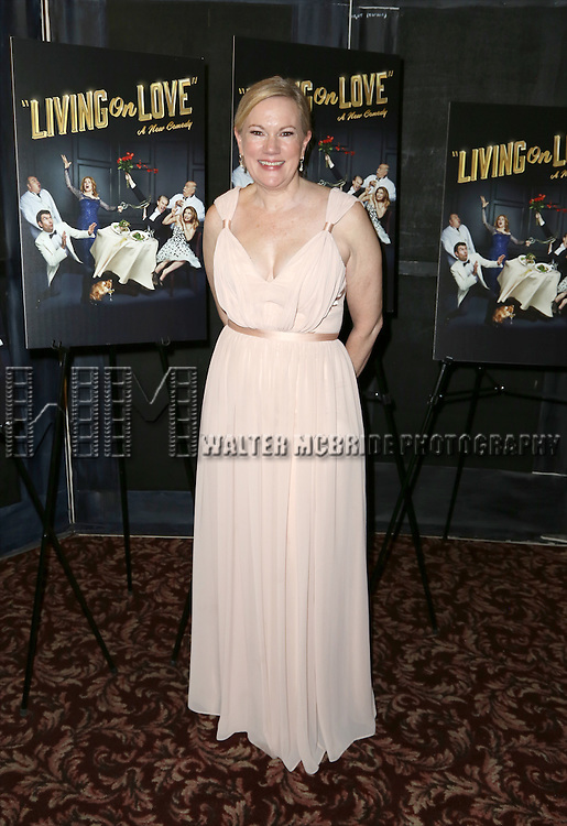 Kathleen Marshall attends the Broadway Opening Night Performance After Party for 'Living on Love' at Sardi's on April 20, 2015 in New York City.