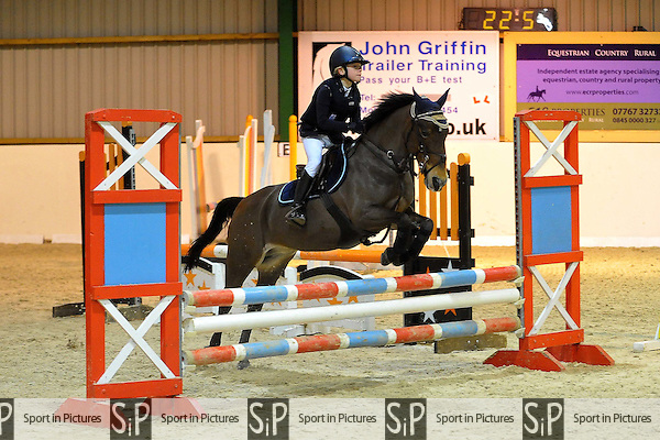 Class 6. British Showjumping (BS) Juniors. Brook Farm Training Centre. Essex. 30/01/2016. MANDATORY Credit Ellie Ingram/Sportinpictures - NO UNAUTHORISED USE - 07837 394578