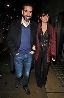 Robert Pires and Jessica Lemarie at the Wellness Awards 2018, BAFTA, Piccadilly, London, England, UK, on Thursday 01 February 2018.<br /> CAP/CAN<br /> &copy;CAN/Capital Pictures