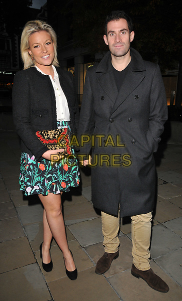 Natalie Rushdie and Zafar Rushdie at the Philip Colbert New Paintings private view, Saatchi Gallery, King's Road, London, England, UK, on Monday 02 October 2017.<br /> CAP/CAN<br /> &copy;CAN/Capital Pictures
